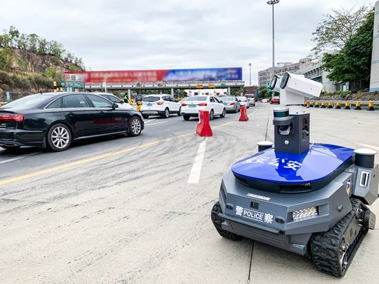优必选AI机器人驰援深圳疫情防控一线