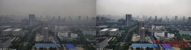 大华AI算法透雾技术 轻松实现清晰监控画面