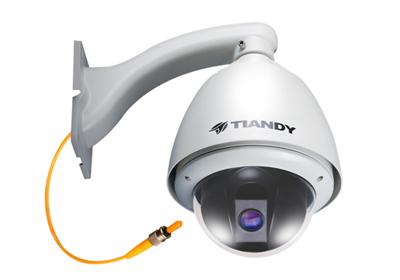 光纤智能高速球型摄像机