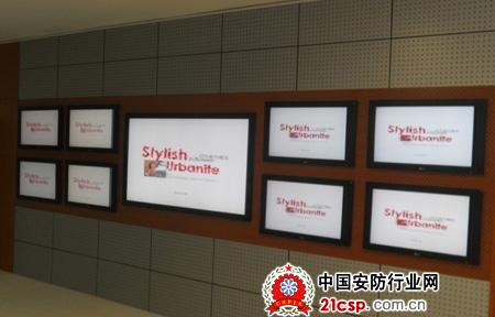 lg大屏显示器亮相北京现代汽车厂房