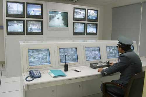 南昌监控电视墙