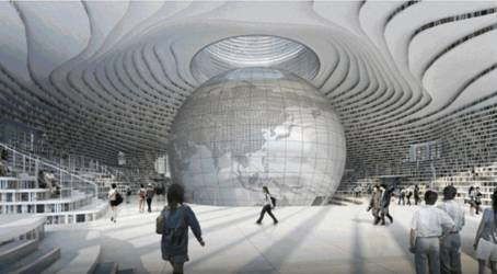 企业新闻 企业动态 正文       坐落于天津滨海新区的网红图书馆   那